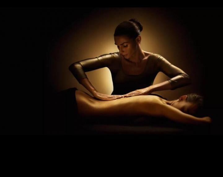 Голый массаж
